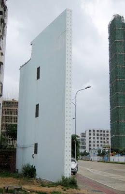 Los edificios más estrechos del mundo
