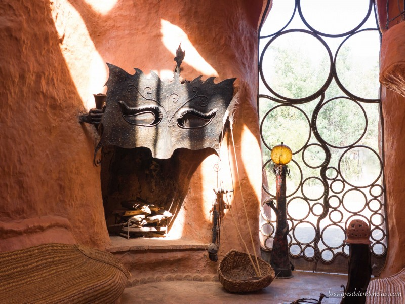 La casa de barro en Villa de Leyva